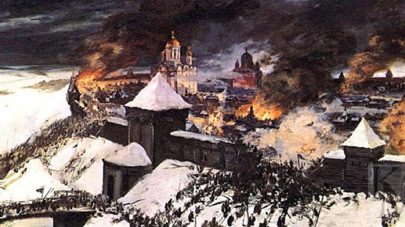 Фрагмент диорамы «Оборона старой Рязани».