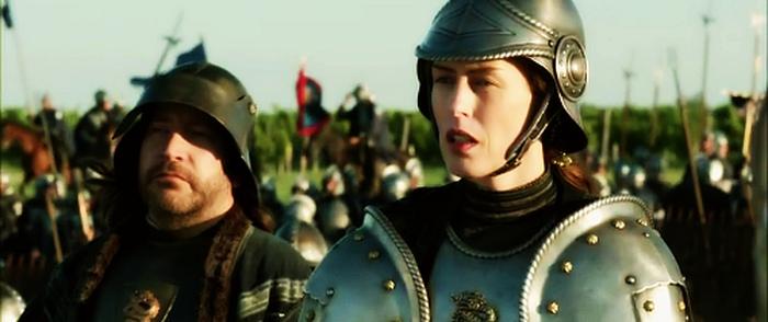 Джина МакКи в роли Сфорца в сериале «Борджиа».